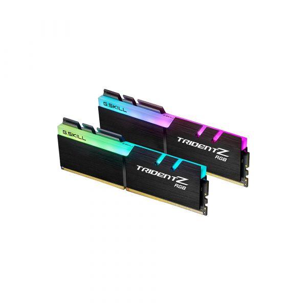 Memória RAM G.Skill 32GB Trident Z RGB (2x 16GB) DDR4 3600MHz PC4-28800 CL17 - F4-3600C17D-32GTZR