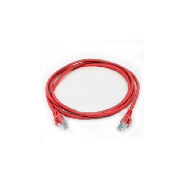 Tech Fuzzion Cabo Rede RJ45 C6 2M Red - TFZ-LC06012RD