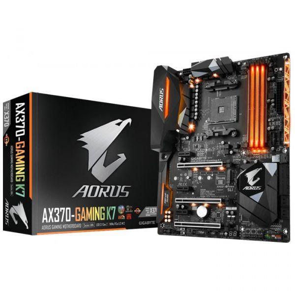Motherboard GigaByte Aorus AX370 Gaming K7 - GA-AX370-Gaming K7