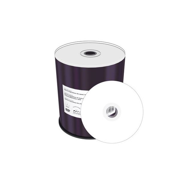 Mediarange DVD-R Imprimível Branco 16x Pack 100 - MR413