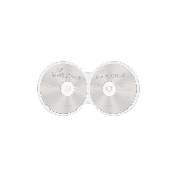 MediaRange Caixa Shellcase 2 Discos Transparente - BOX86