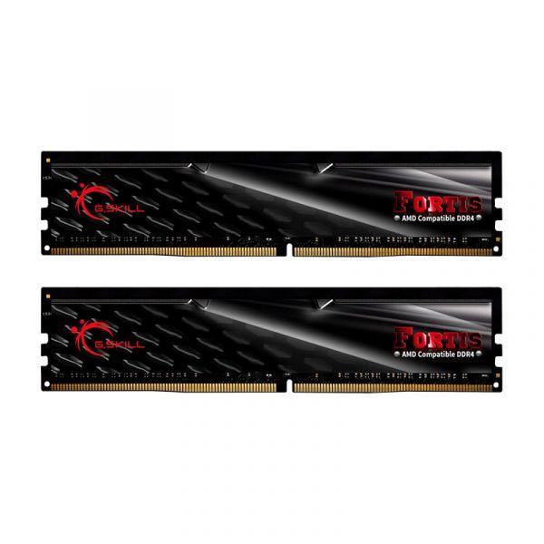 Memória RAM G.Skill 32GB Fortis (2x 16GB) DDR4 2133MHz CL15 Black - F4-2133C15D-32GFT