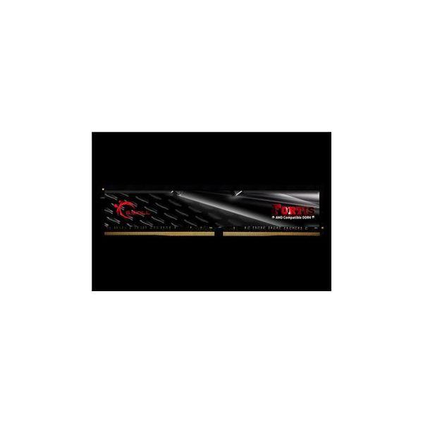Memória RAM G.Skill 16GB Fortis (2x 8GB) DDR4 2133MHz CL15 Black - F4-2133C15D-16GFT