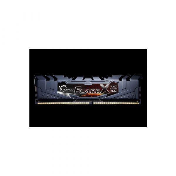 Memória RAM G.Skill 16GB FlareX (2x 8GB) DDR4 3200MHz PC4-25600 CL14 Black - F4-3200C14D-16GFX