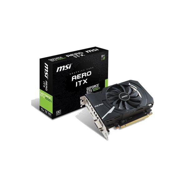 MSI GeForce GTX1050 Ti AERO ITX 4GB OC GDDR5 - 912-V809-2454