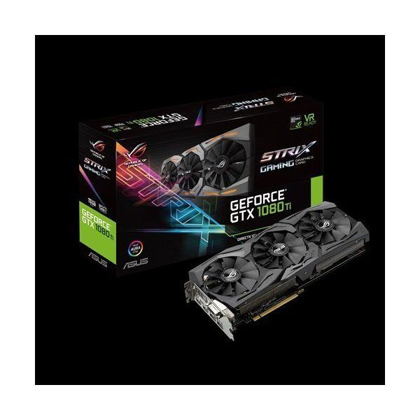 Asus GeForce GTX1080 Ti ROG Strix 11GB GDDR5X - 90YV0AM1-M0NM00