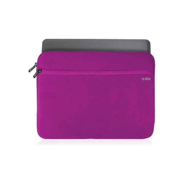 """SBS Sleeve case for Tablet and Notebook up to 11"""" Pink - TASLEAVE11P"""