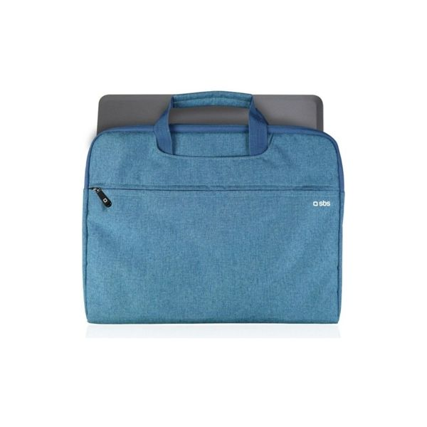 """SBS Bag with handles for Notebook up to 15"""" Blue - NBSLIMBAG15B"""