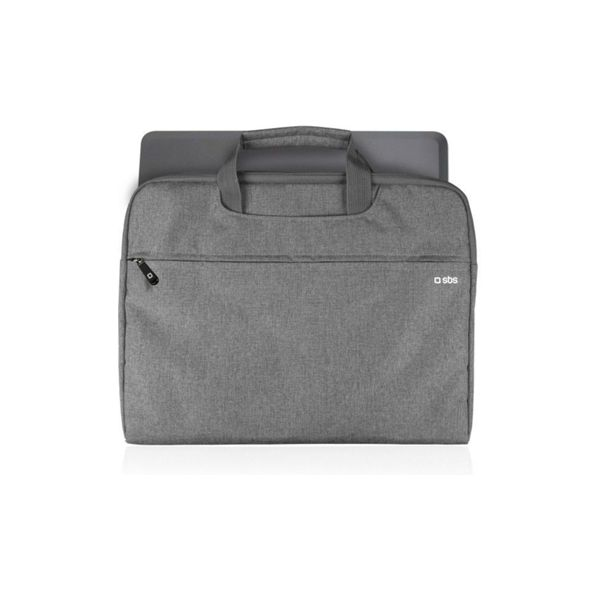 "SBS Bag with handles for Tablet and Notebook up to 13"" Grey - TANBSLIMBAG13G"