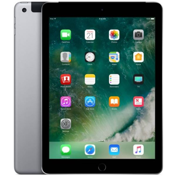 "Tablet Apple iPad 9.7"" 128GB Wi-Fi + Cellular Space Grey - MP262TY/A"