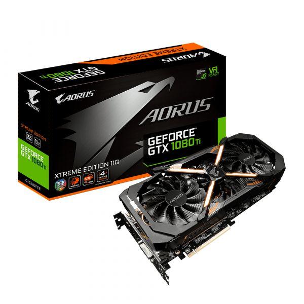 Gigabyte GeForce GTX1080 TI Aorus Xtreme Edition 11GB GDDR5 - GVN108TAX-00-G