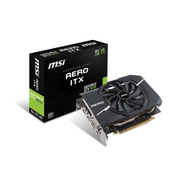 MSI GeForce GTX1070 Aero ITX OC 8GB GDDR5 - 912-V330-090
