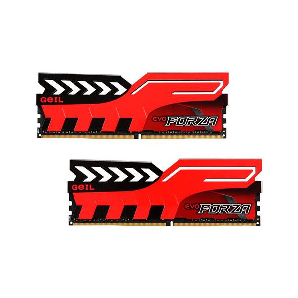 Memória RAM Geil 16GB EVO FORZA DC (2x 8GB) DDR4 3000MHz PC4-24000 - GFR416GB3000C15ADC