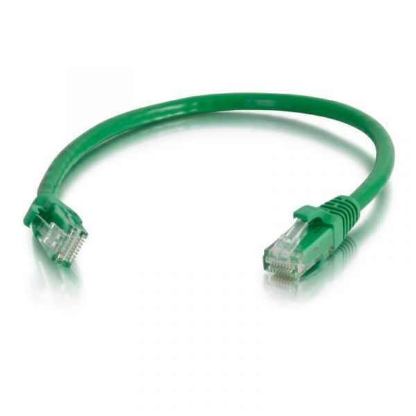 C2G Cat6 Booted Unshielded (UTP) Network Patch Cable 3 m Green