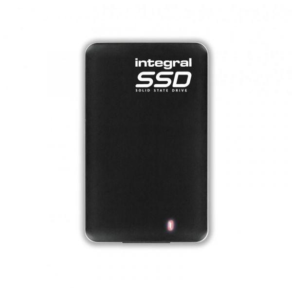 Disco Externo SSD Integral 480GB Portable SSD USB 3.0 Black - INSSD480GPORT3.0