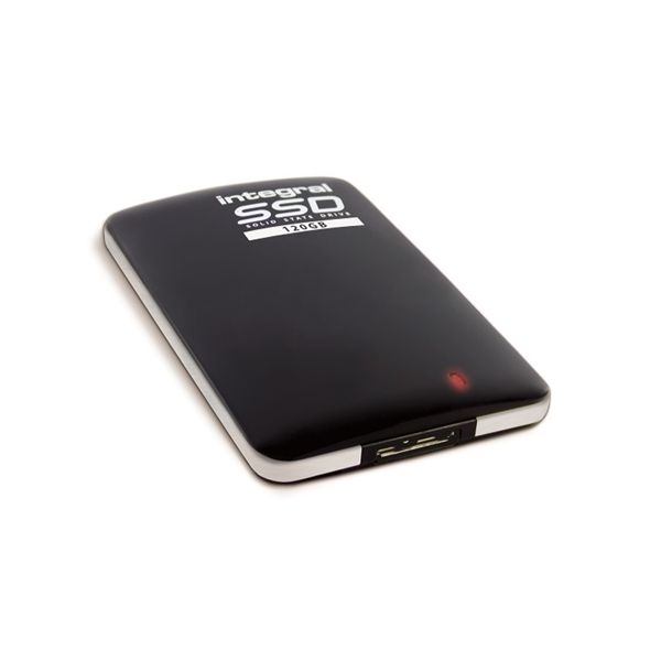 Disco Externo SSD Integral 120GB Portable SSD USB 3.0 Black - INSSD120GPORT3.0