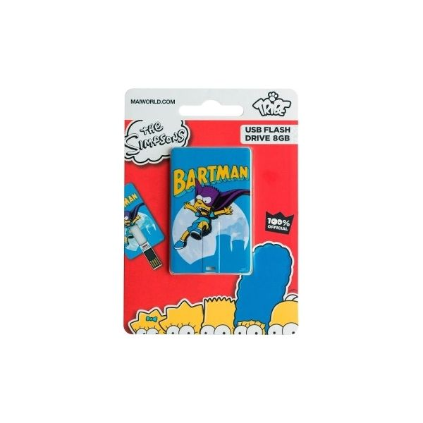 Tribe 8GB Card USB Simpsons Bartman