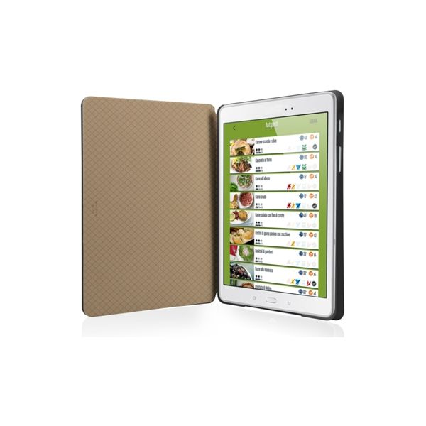 """SBS Book case with stand position for Samsung Galaxy Tab A 9.7"""" - TABOOKTABA97K"""