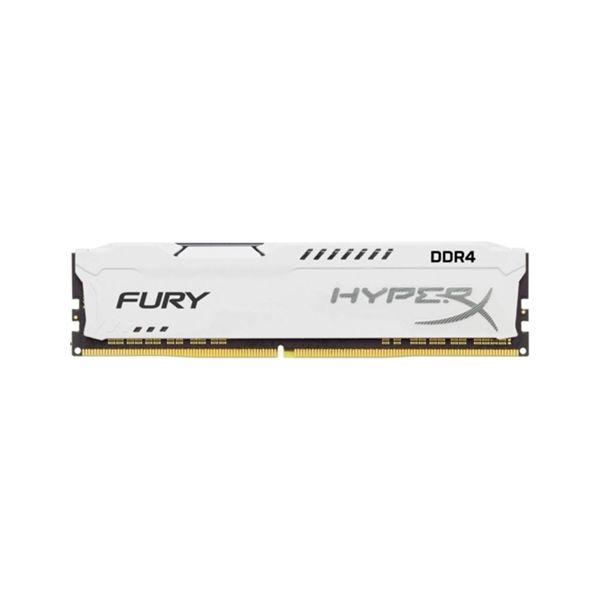 Memória RAM Kingston 16GB HyperX Fury DDR4 2133MHz CL14 White - HX421C14FW/16