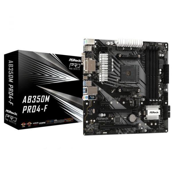 Motherboard Asrock AB350M SKT AM4 - 90-MXB580-A0UAYZ