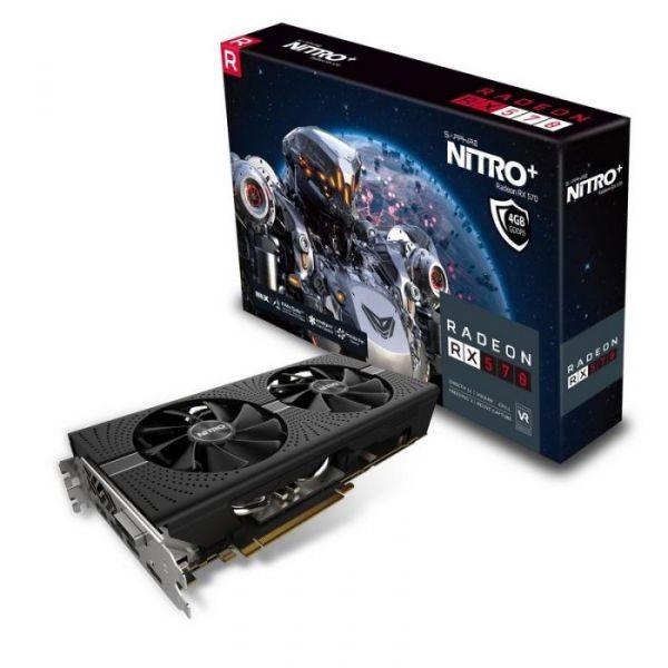 Sapphire Radeon RX570 NITRO+ 4GB GDDR5 - 11266-14-20G