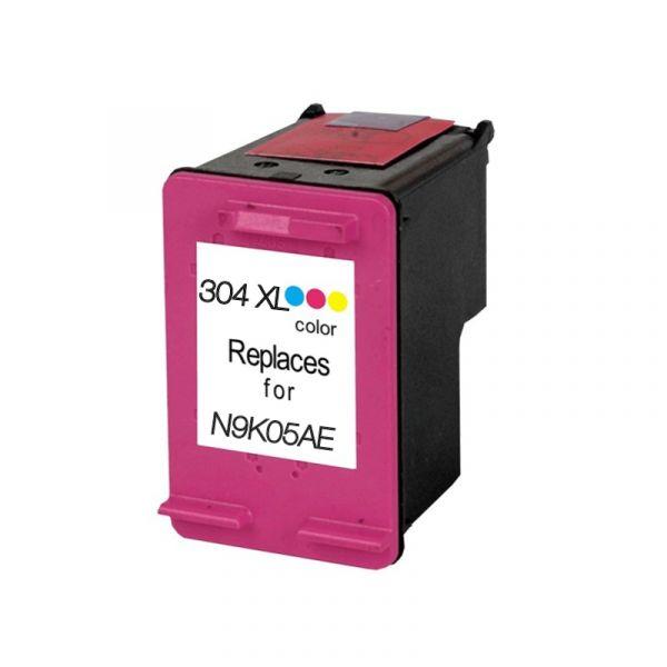 Tinteiro HP 304XL Tri-Colour N9K07A Compatível