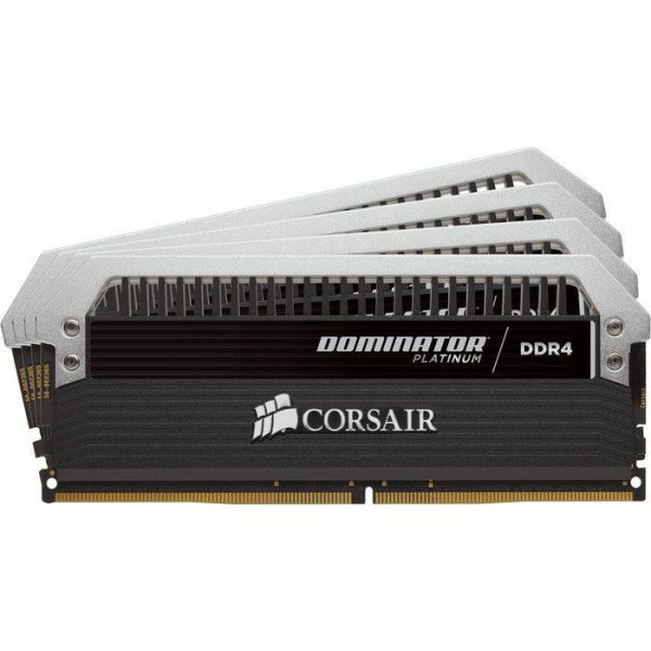 Memória RAM Corsair 32GB Dominator Platinum (4x 8GB) DDR4 3466MHz - CMD32GX4M4B3466C16