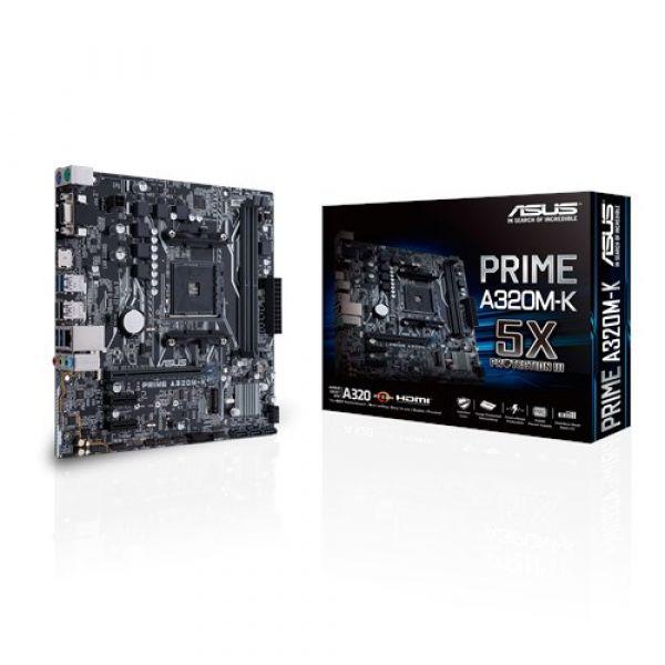 Motherboard Asus Prime A320M-K - 90MB0TV0-M0EAY0