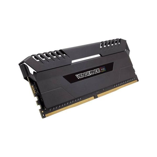 Memória RAM Corsair 16GB Vengeance RGB (2x 8GB) DDR3 3000MHz PC4-24000 CL15 - CMR16GX4M2C3000C15