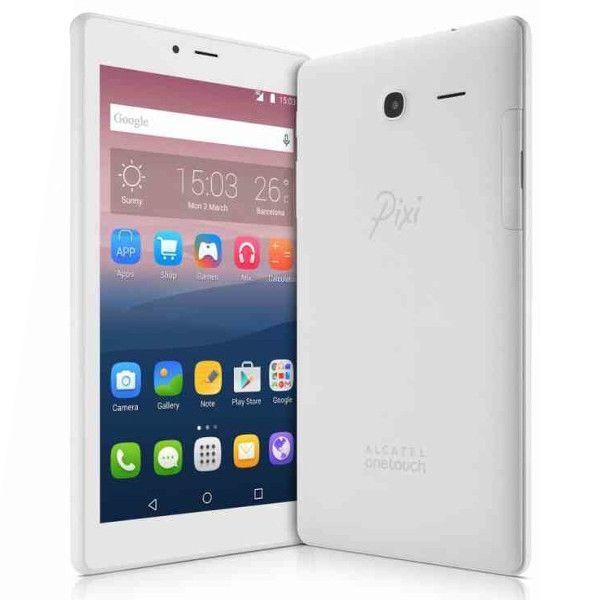 "Tablet Alcatel Pixi4 7"" Quad-Core 1.3GHz 1GB/8GB White - 8063-3BALPT1"