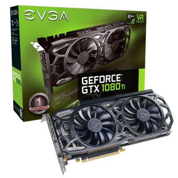 EVGA GeForce GTX1080 Ti SC Black Edition 11GB GDDR5X - 11G-P4-6393-KR