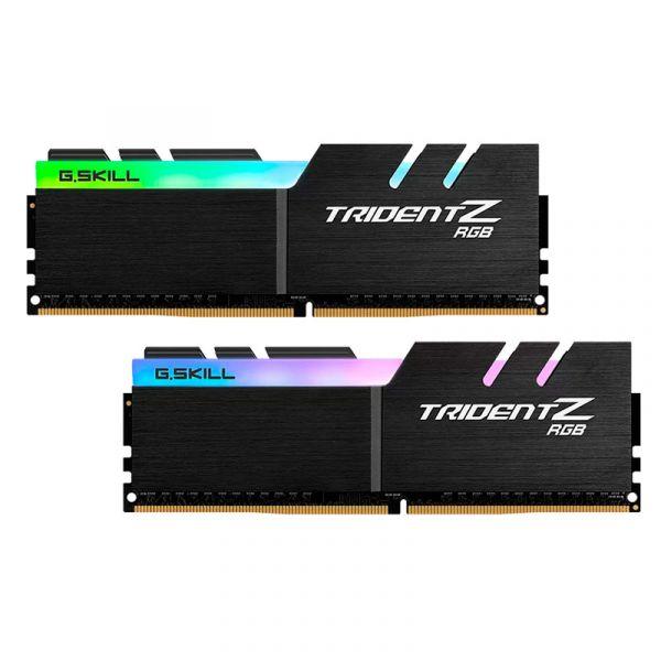 Memória RAM G.Skill 32GB Trident Z RGB DDR4 3333MHz PC4-26666 (2x 16GB) CL16 - F4-3333C16D-32GTZR