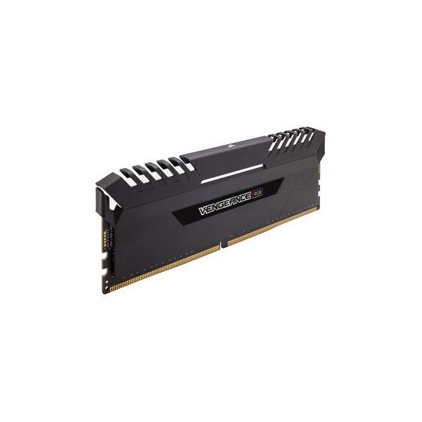 Memória RAM Corsair 32GB Vengeance RGB DDR4 3000MHz PC4-24000 (4x 8GB) CL15 - CMR32GX4M4C3000C15