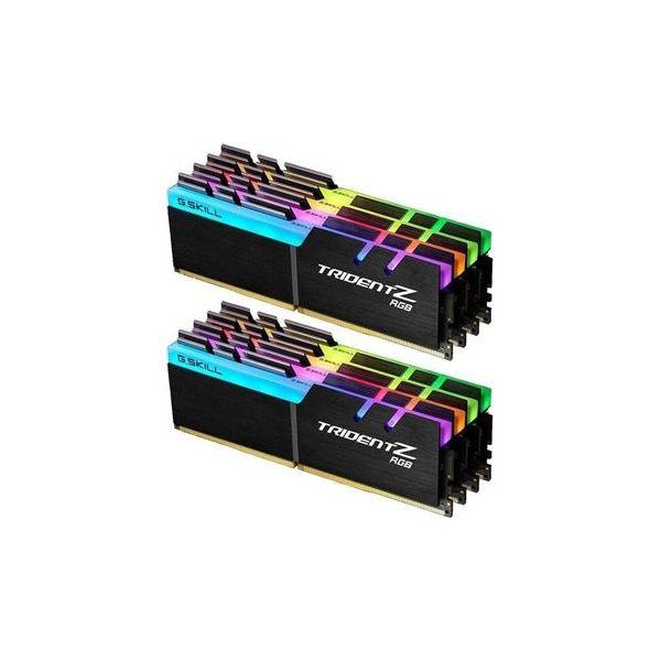 Memória RAM G.Skill 128GB Trident Z RGB DDR4 3200MHz PC4-25600 8x16GB CL15 - F4-3200C15Q2-128GTZR