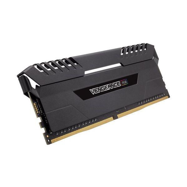 Memória RAM Corsair 16GB Vengeance RGB DDR4 3466MHz PC4-27700 (2x 8GB) CL16 - CMR16GX4M2C3466C16