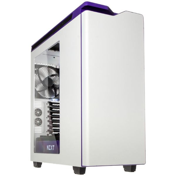 NZXT H440 V2 MidiTower Window White/Purple