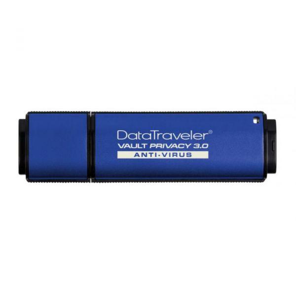Kingston 64GB DataTraveler Vault Privacy 3.0 Anti-Virus USB 3.0 - DTVP30AV/64GB