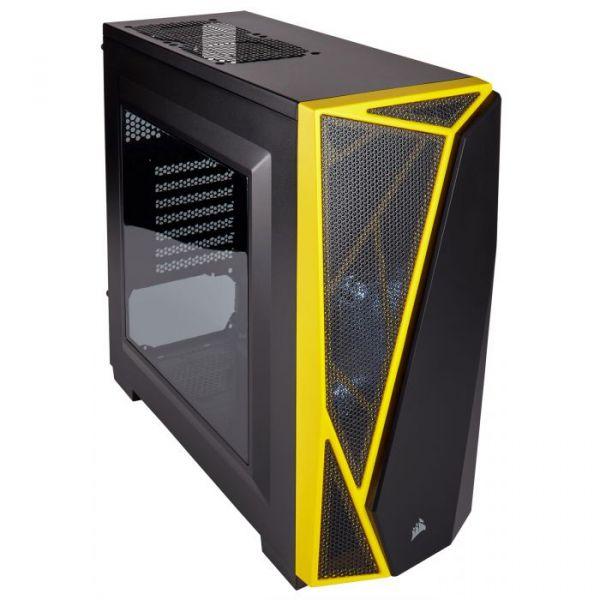 Corsair Carbide Series SPEC-04 Black/Yellow Led Yellow USB 3.0 - CC-9011108-WW