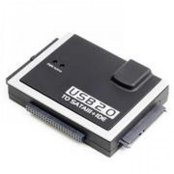 Blueray Adaptador USB2.0 P/SATA + IDE 3.5/2.5