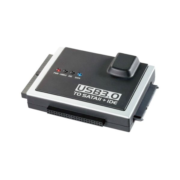 Blueray Adaptador USB3.0 P/SATA + IDE 3.5/2.5