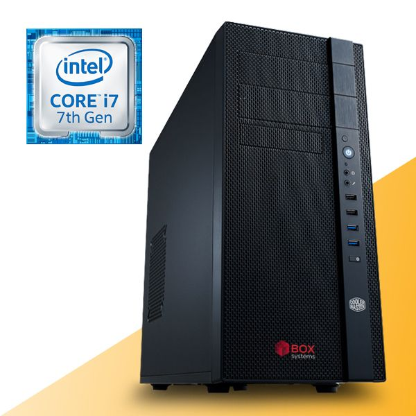 Box Systems Prestige BM1030 N400 i7-7700 8GB 480GB SSD GTX1050 - BOX17BM1030