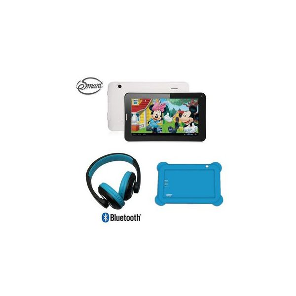 "Tablet eSmart Kids 7"" + Auscultadores Bluetooth Blue"