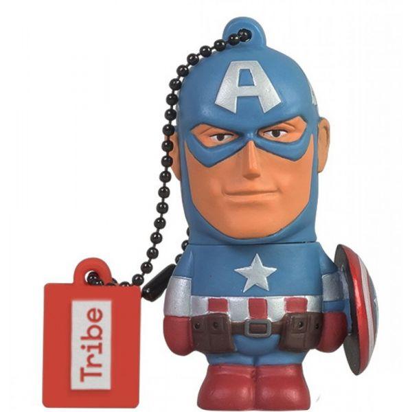 Tribe 16GB Pen Drive Marvel Captain America - FD016501