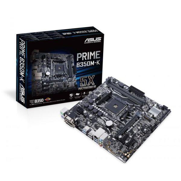 Motherboard Asus Prime B350M-K - 90MB0UH0-M0EAY0