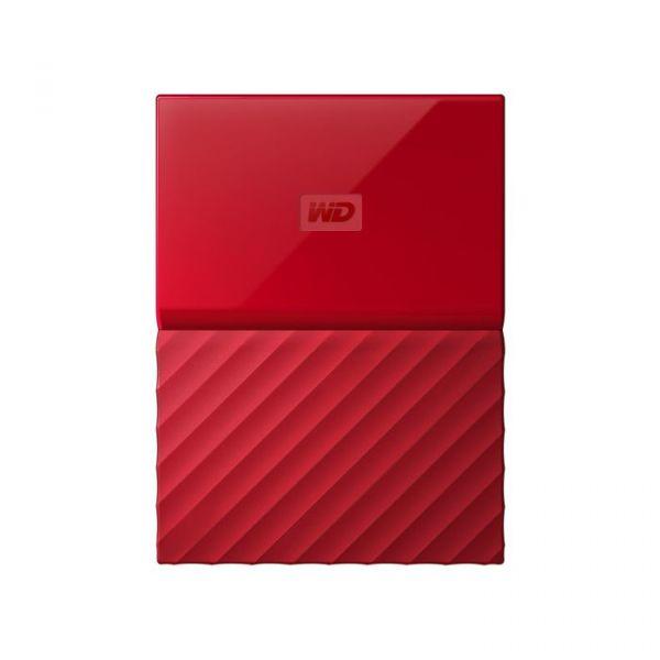 Disco Externo Western Digital 1TB Passport Lumen 2.5 USB 3.0 Red - WDBYNN0010BRD-WESN