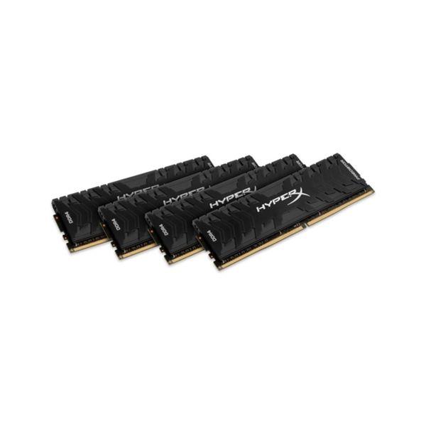 Memória RAM Kingston 32GB HyperX Predator DDR4 2666MHz PC4-21300 (4x 8GB) CL13 - HX426C13PB3K4/32