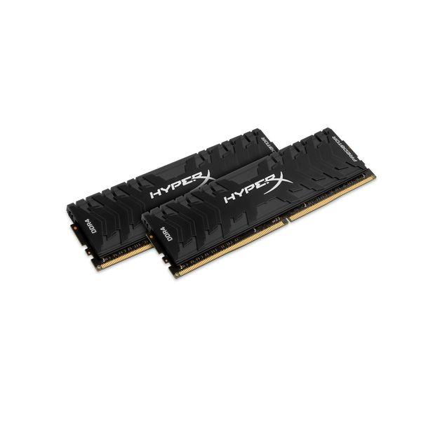 Memória RAM Kingston 16GB HyperX Predator DDR4 2400MHz PC4-19200 (2x 8GB) CL12 - HX424C12PB3K2/16