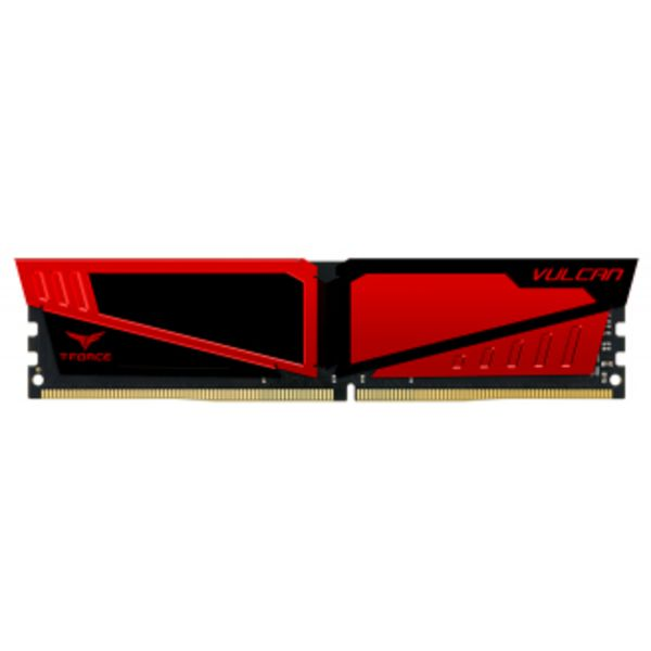 Memória RAM Team Group T-Force Vulcan 4GB DDR4 2400MHz PC4-19200 Red - TLRED44G2400HC1401