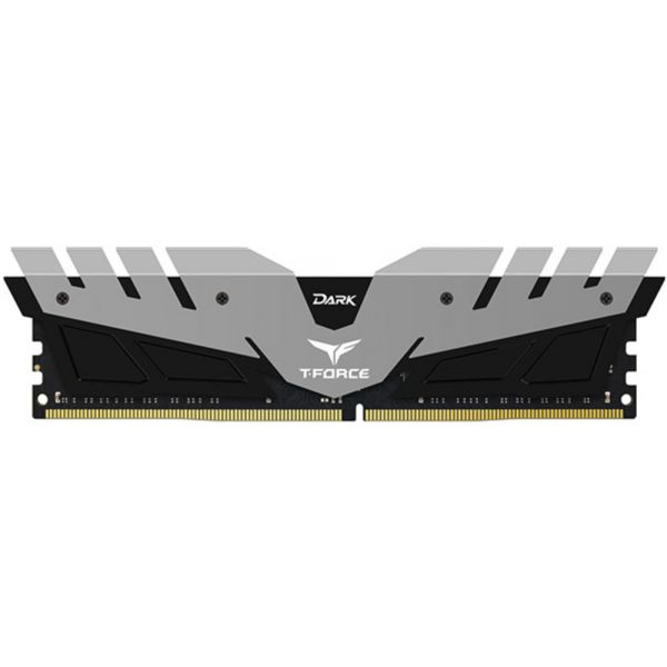 Memória RAM Team Group T-Force Dark 8GB DDR4 2400MHz PC4-19200 Silver - TDGED48G2400HC1401