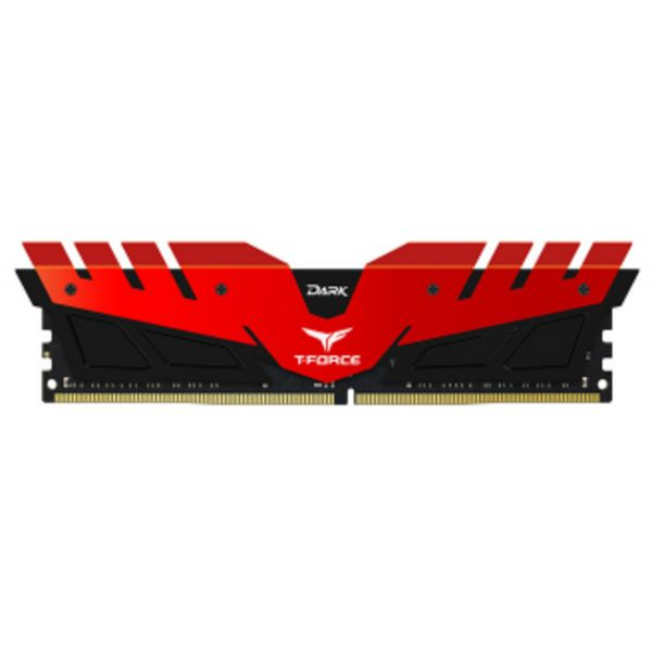Memória RAM Team Group T-Force Dark Kit 32GB (2 x 16GB) DDR4 3000MHz PC4-24000 Red - TDRED432G3000HC16CDC01
